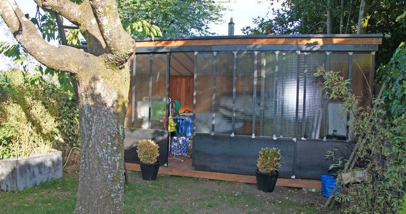 Abris de jardin - Menuiserie Agencement Général 44 à Nantes (44)