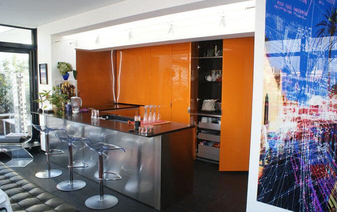 Cuisine et placard encastré - Menuiserie Agencement Général 44 à Nantes (44)